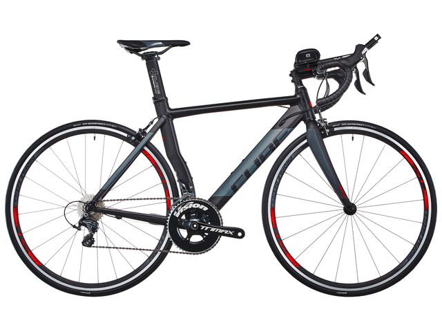 Cube Aerium HPA Pro triathlon fiets grijs/zwart